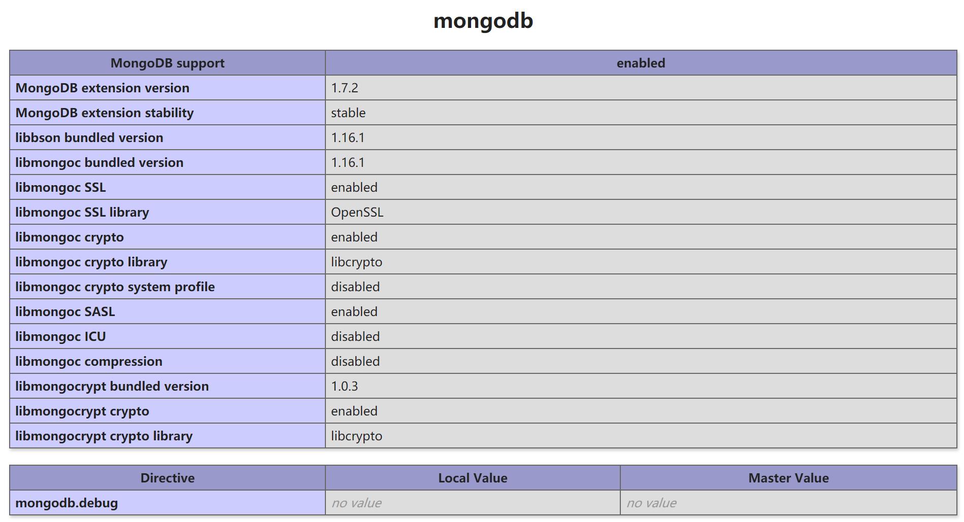 《MongoDB 面向文档数据库使用说明》